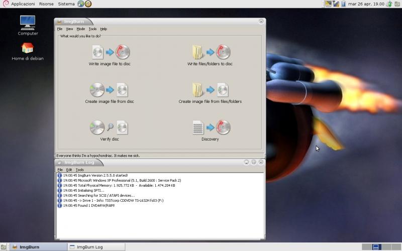 Masterizzare giochi xbox 360 linux, Linux