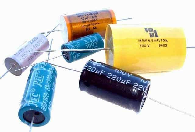 Foto condensatore, Elettronica
