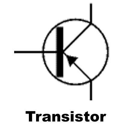 Simbolo Transistor, Elettronica