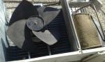 Unit� esterna motore condizionatore smontato
