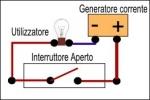 Schema di funzionamento e collegamento di un interruttore