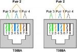 Realizzare una cavo di rete LAN dritto