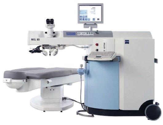 Laser per intervento prk, Salute