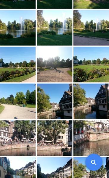 visualizzazione foto google foto salvate in cloud
