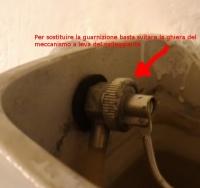Leva galleggiante cassetta del WC