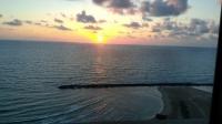 Haifa tramonto sul mare
