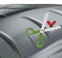 Tagliare stringa riparazione pneumatico in eccesso