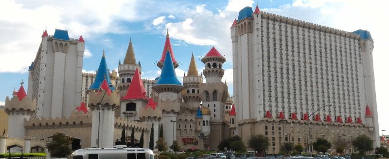 Hotel Excalibur Las Vegas, Viaggiare