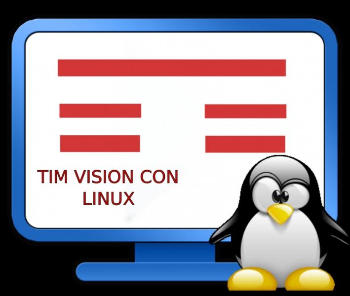 Utilizzare TimVision con linux senza silverlight,